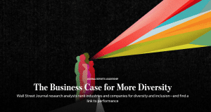 Diversity and Inclusion Research by the Wall Street Journal